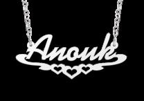 Naamketting model Anouk